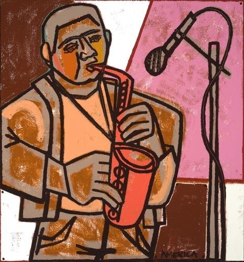 , 'The Orange Saxophone,' , Joanne Artman Gallery