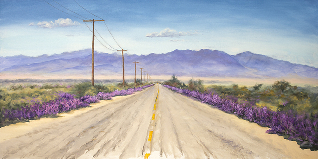 , 'Old Hwy 10 Desert Center, Ca.,' 2019, Asher Grey Gallery