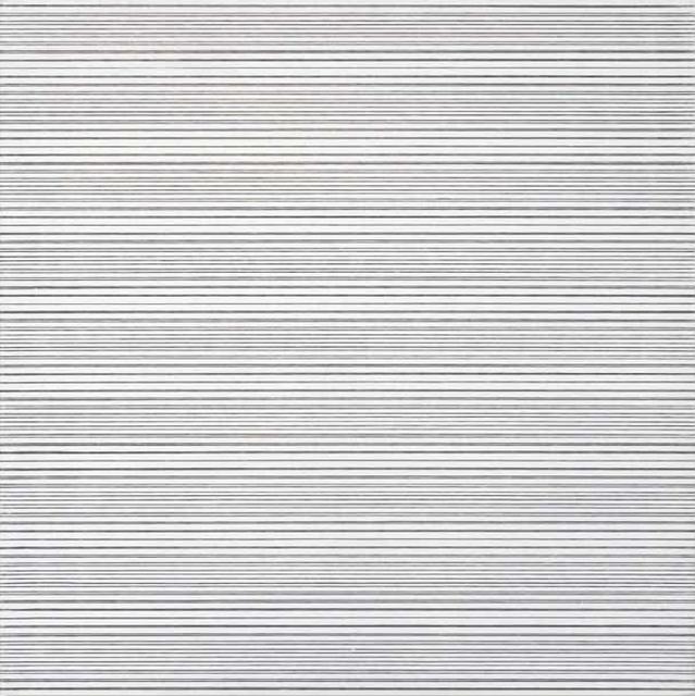 , '2 trames inégales avec 10 interferénces,' 1973, Dan Galeria
