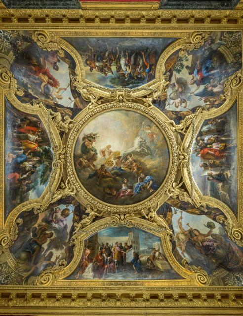 , 'Le plafond du salon d'Apollon,' 1674, Château de Versailles