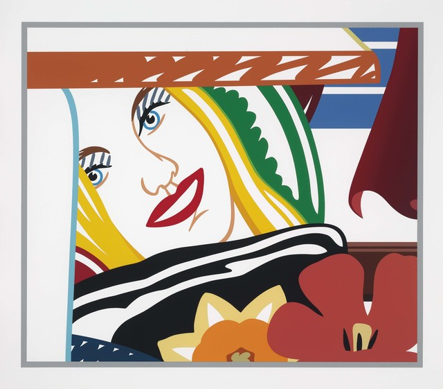 Tom Wesselmann, 'Bedroom Face #41', 1990, Print, Screenprint in colors on museum board, Christie's