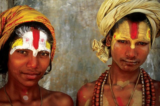 , 'Sadhu Friendship, Pashupatinath, Kathmandu, Nepal,' 2002, Octavia Art Gallery