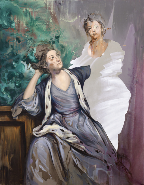 , 'Untitled (after Sir Joshua Reynolds),' 2015, lokal_30