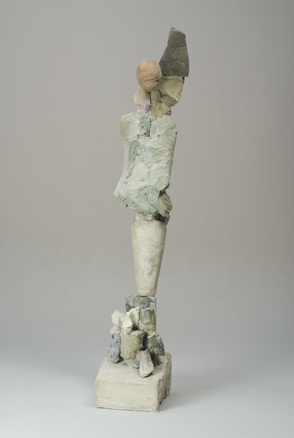 Stephen De Staebler, 'Figure with Black Wing', 2008, Dolby Chadwick Gallery
