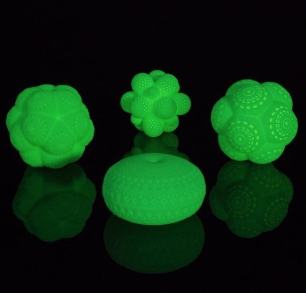 , 'Mars Glow in the Dark Molecules, Set of 4 ,' 2017, Mirus Gallery