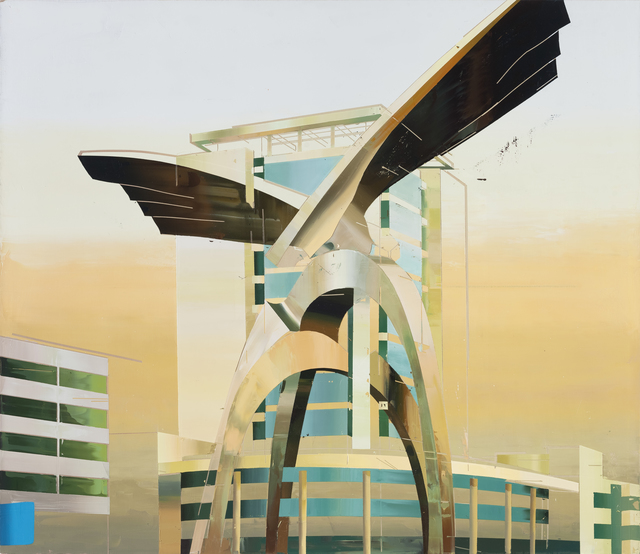 , 'Building of Eagles,' 2014, Leo Xu Projects