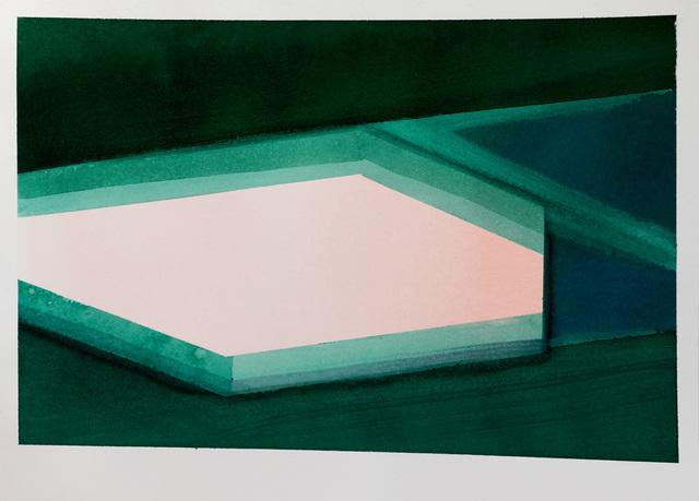 , 'Pool X,' 2017, Galerie Laurence Bernard