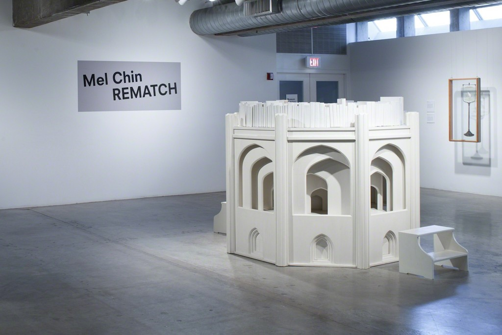 "Installation view of ""Mel Chin: Rematch"" at the Contemporary Arts Museum Houston, 2015. Photo: Paul Hester. © Contemporary Arts Museum Houston, 2015."