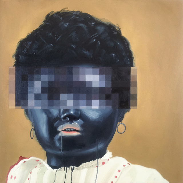 Ronald Hall, 'Censored Baby II ', 2014, Painting, Oil on canvas, Ground Floor Gallery
