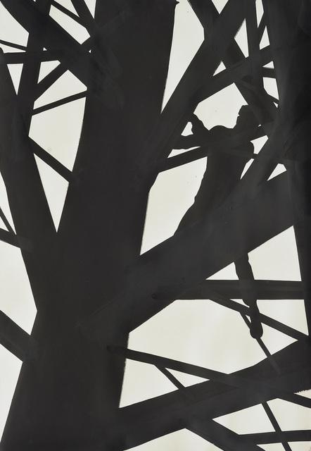 , 'Man on Tree,' 2016, Raster