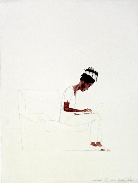 , 'Notebook XIV,' 2014, Ed Cross Fine Art