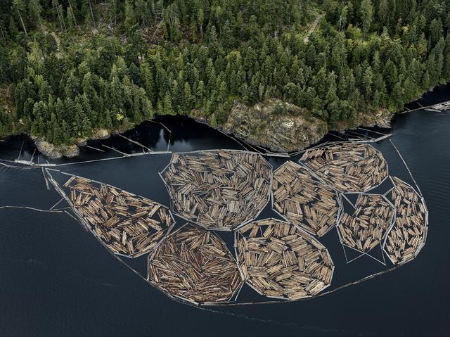 , 'Log Booms #1, Vancouver Island, British Columbia, Canada,' 2016, Howard Greenberg Gallery
