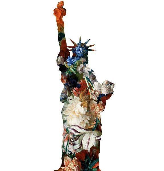 Agent X, 'La statue de la Liberte(White)', 2018, Gitana Rosa Gallery
