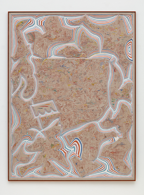 , 'Linen Last Judgement,' 2015, David Kordansky Gallery