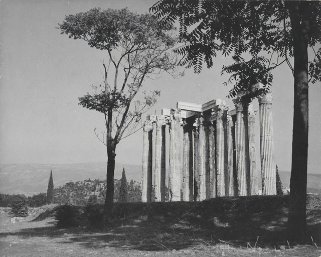 , 'Athens, Temple of Zeus Columns,' 1954, galerie SIT DOWN