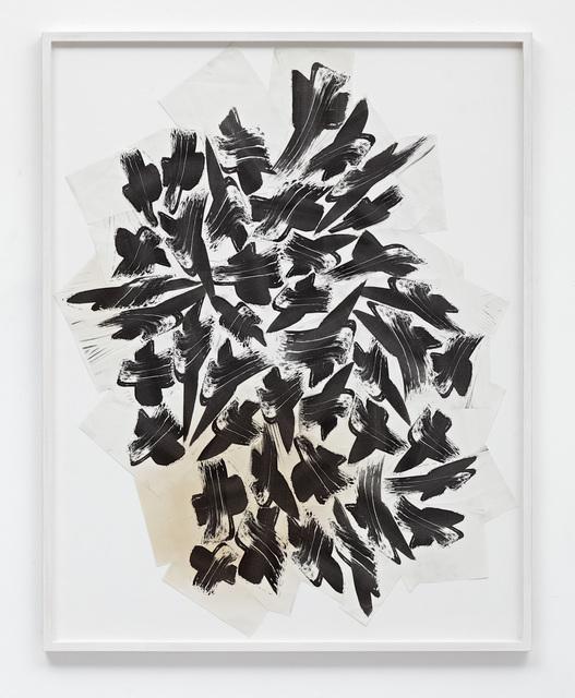 , 'Komposition aus Pinselkreuzen,' 1987, Galerie Barbara Weiss