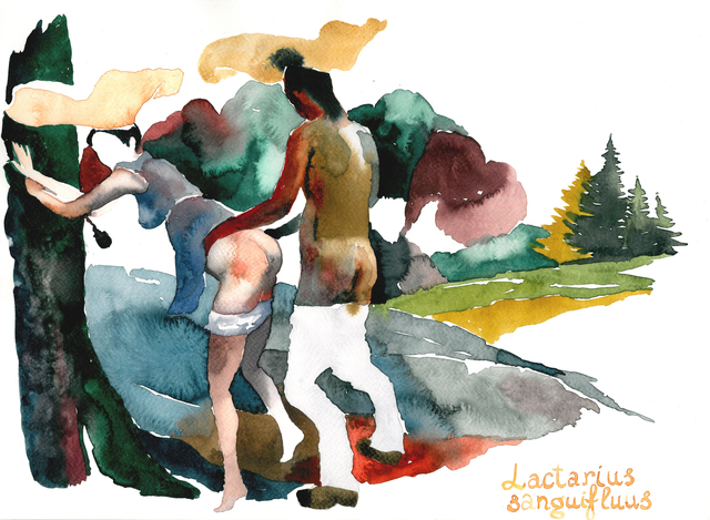, 'Mushrooms' Sex I,' 2015, SABSAY