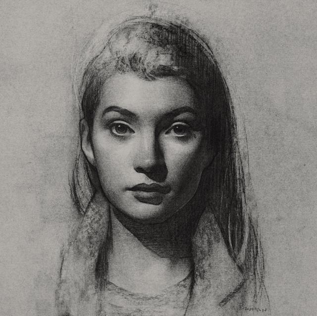 , 'Study for Alyssa II,' 2018, Grenning Gallery