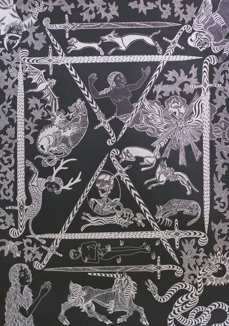 , 'Tirada I. Diez de espadas,' 2016, Javier Lopez & Fer Frances
