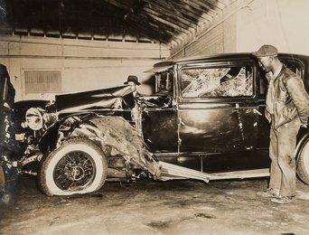 L Pillar Cracks Stepin Fetchit's Skull, Harlem Car Crash, April 25