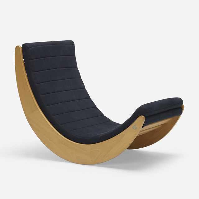 Verner Panton, 'Relaxer 2 rocking chair', 1974, Wright