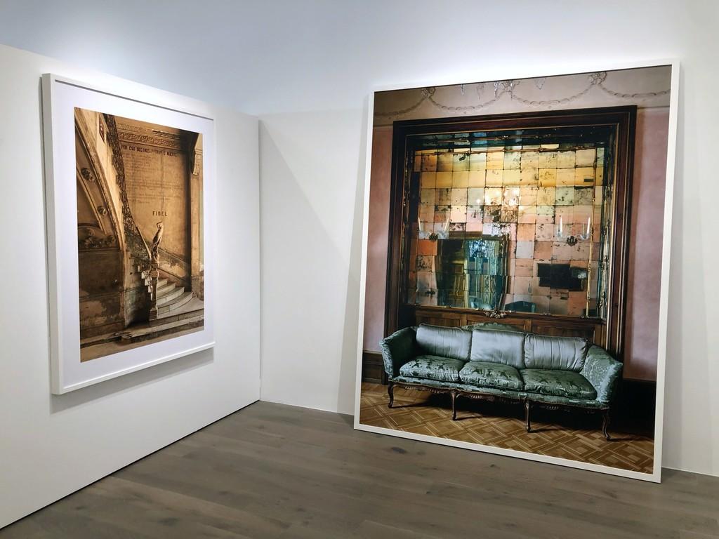 Michael Eastman: Fidel's Last Stairway, Havana; Mirror Grid #2, Milan