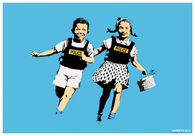 Banksy, 'Jack and Jill', 2005, IFAC Arts
