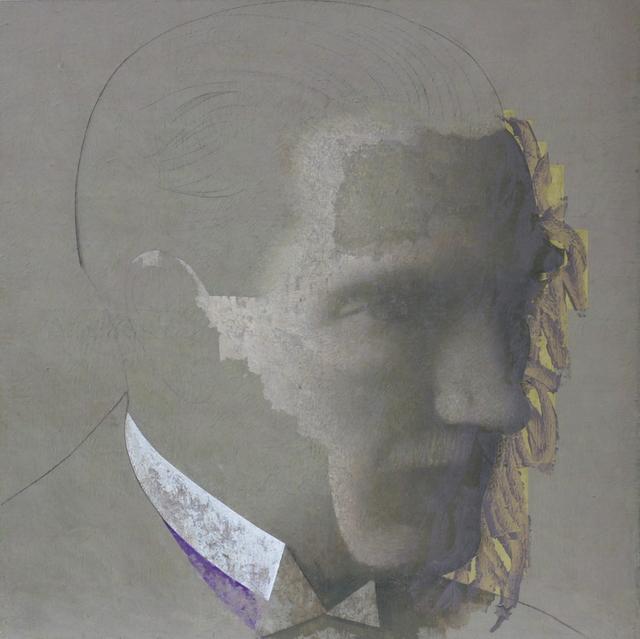 , 'Ataturk | oil on canvas | 140x140 cm,' 2017, Cep Gallery