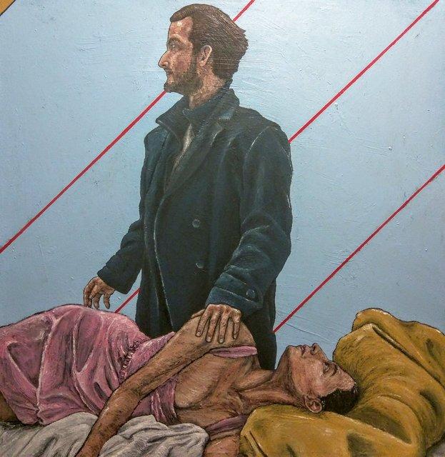 , 'The Stranger,' , Sturgis Art Gallery