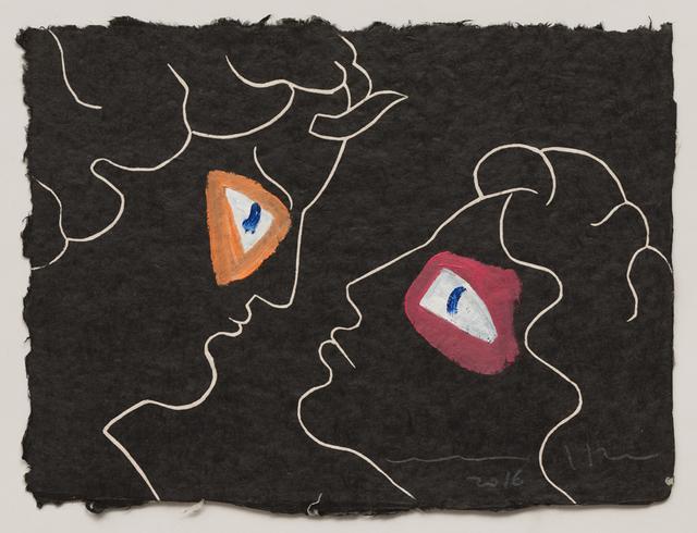 , 'Visages III,' 2016, Galerie Maeght