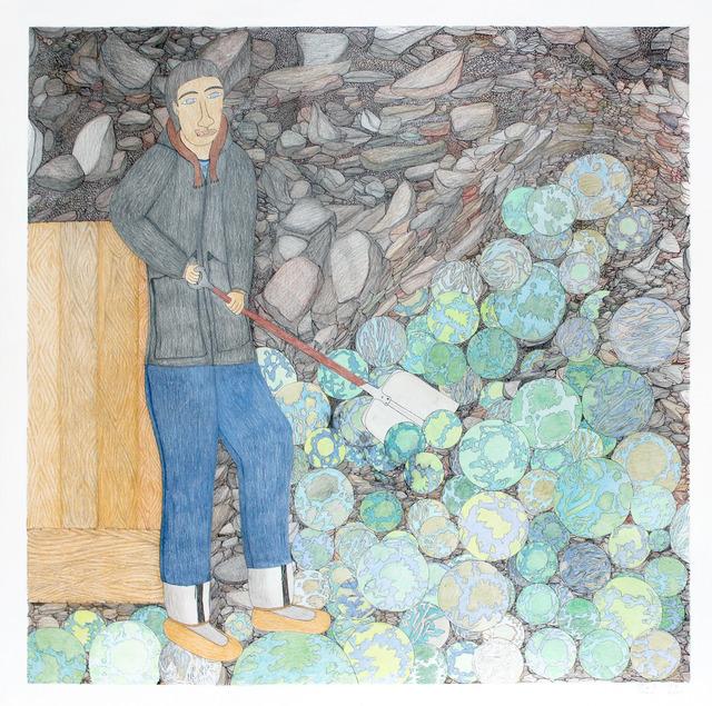 , 'Shuvelling Worlds,' 2013, Feheley Fine Arts