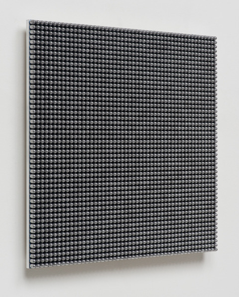 , '136.36 Seconds (9mm Lead Round Nose),' 2015, Davidson
