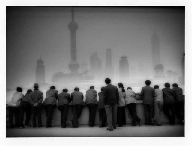 , 'Pudong rises above the Bund, Shanghai, China,' 2000, Sous Les Etoiles Gallery