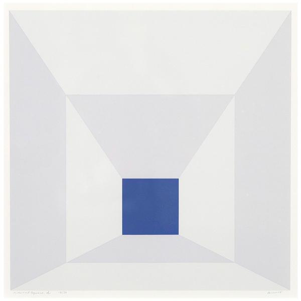 , 'Mitered Squares – Cobalt,' 1976, Caviar20
