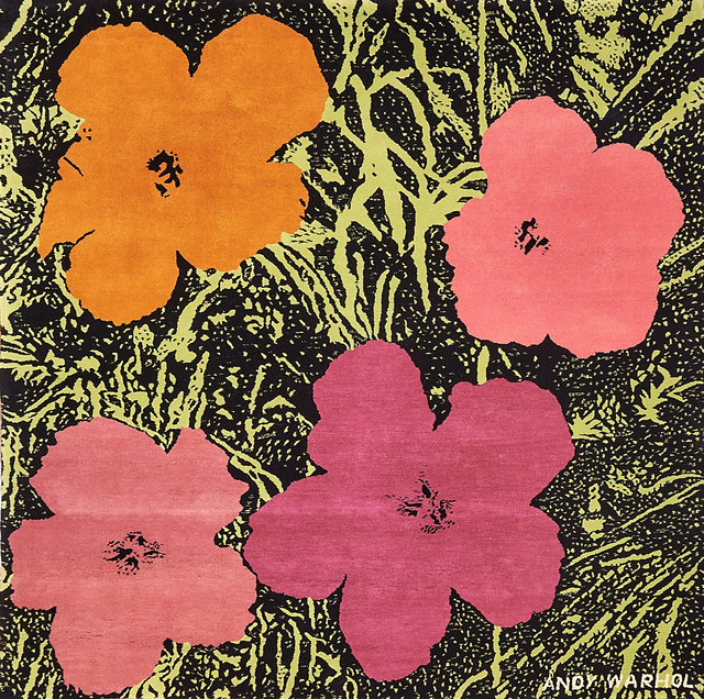 Andy Warhol, 'Flowers Tapestry', 1968, Rago/Wright