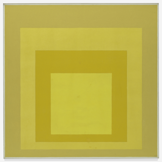 Josef Albers, 'Homage to the Square: Starting', 1968, San Francisco Museum of Modern Art (SFMOMA)
