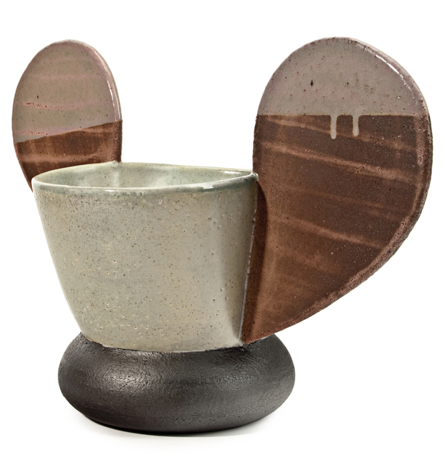 Jamie Walker, 'CUP FORM #8', 2012, Sculpture, Soda fired stoneware, slip and glaze, Traver Gallery