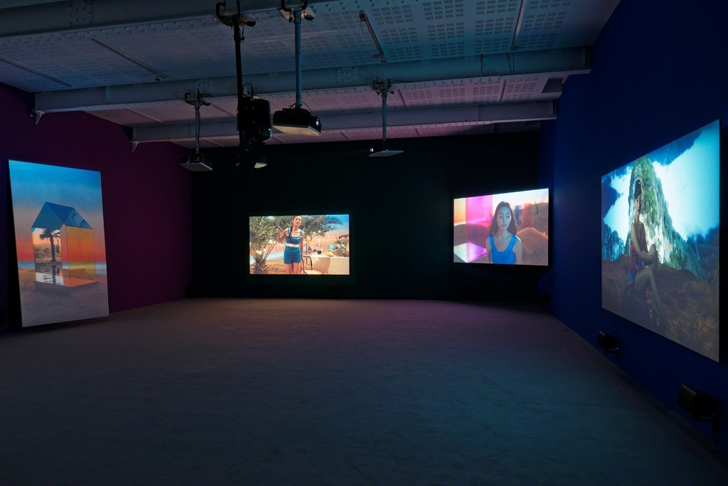 The Coloured Sky: New Women II; Installation View; Galerie Marian Goodman, Paris; April 18 – May 30, 2015