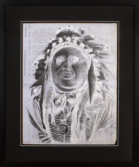 , 'Indian Giver,' 2018, Blue Rain Gallery