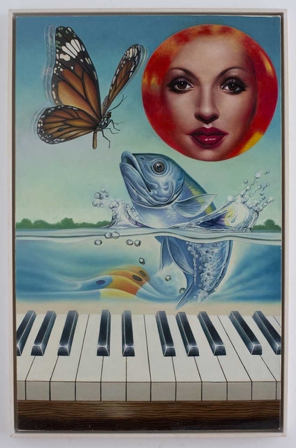Erró, 'La Truite de Schubert or Sonate for Piano and Fish', 1983, Galerie Ernst Hilger
