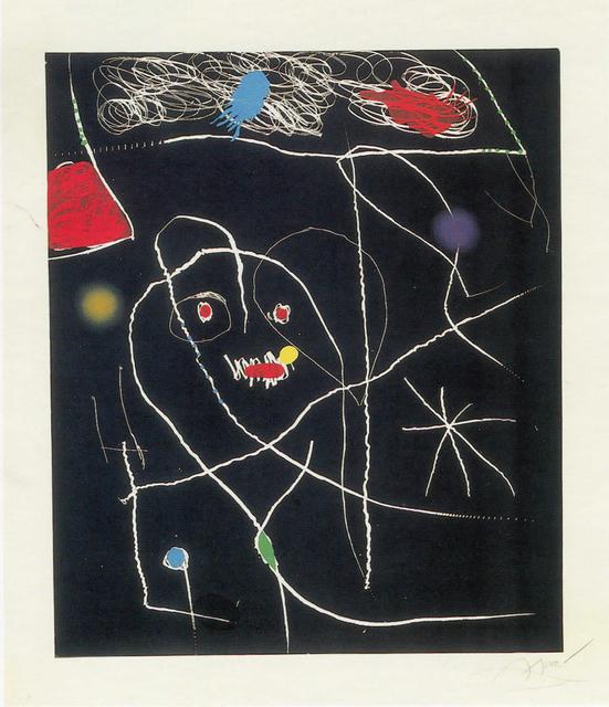 Joan Miró, 'El pi de Formentor V', 1976, Cristea Roberts Gallery