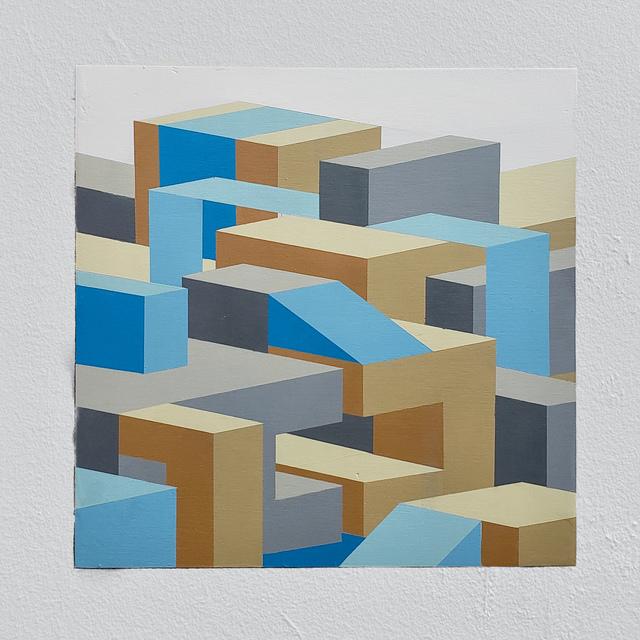 Joshua Dodson, 'Blue Slot', 2019, Ro2 Art