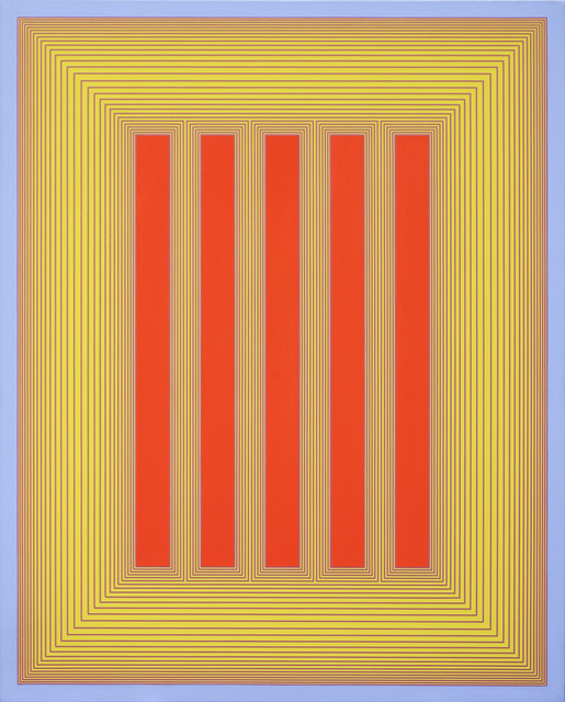 , 'Untitled (Red and Yellow Temple),' 1983, David Richard Gallery