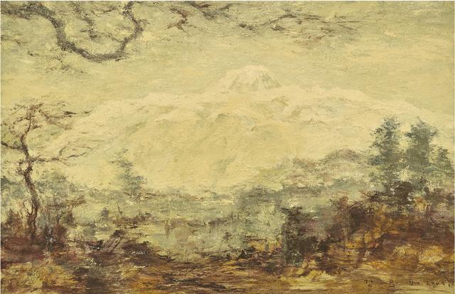 , 'Mt. Halla in January,' 2007, Hakgojae Gallery