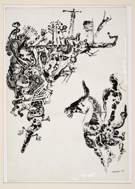 , 'Illustration no. 8 for Tayeb Salih's novel Maryoud,' 1977, Vigo Gallery