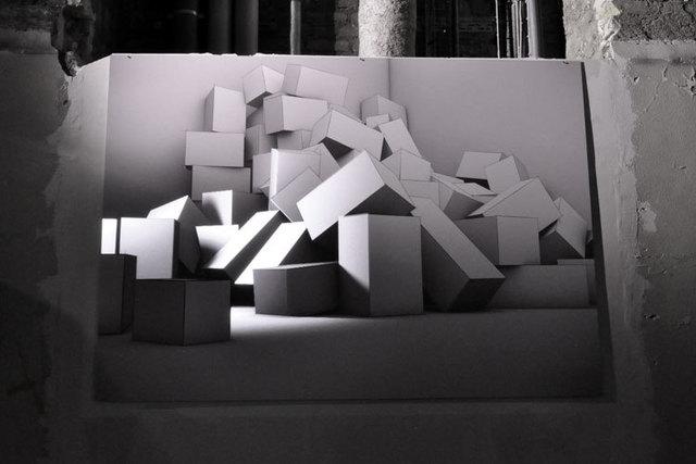 Joanie Lemercier, 'Light Canvas II', 2012, Muriel Guépin Gallery