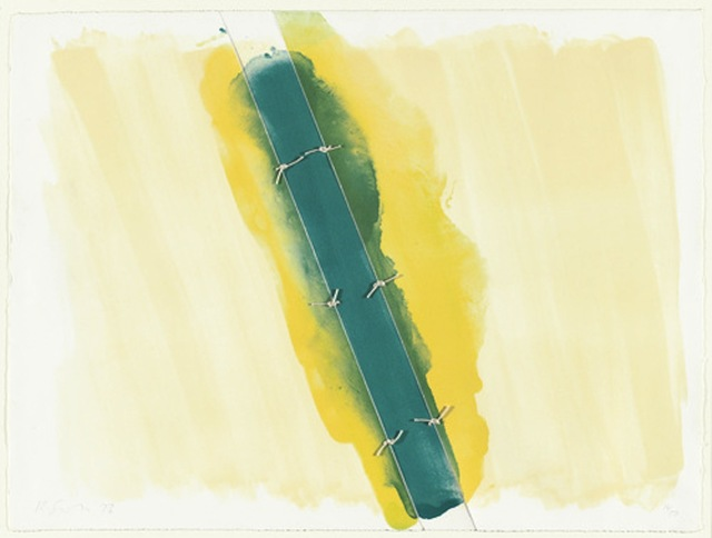 , 'Lawson Set I (green tied in 3 sections),' 1973, Bernard Jacobson Gallery
