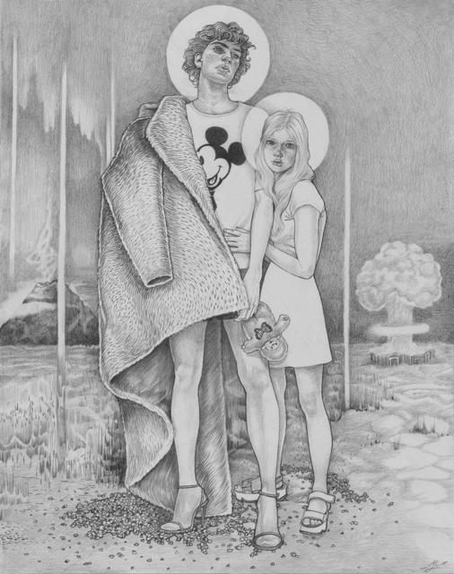 , 'Acid Clouds & the Unlikely Heroes,' 2018, Massey Klein Gallery