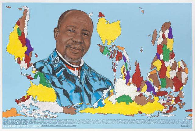 , 'La vraie carte du monde (N°1),' 2011, Magnin-A
