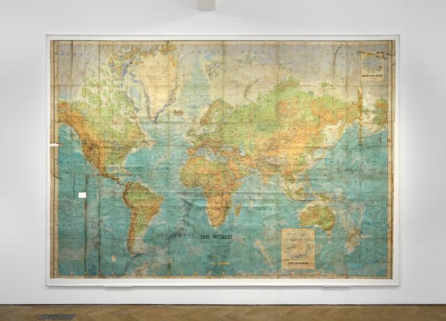 , 'World Series Map (1,000 sites selected at random between August 1968 & July 1969),' 1969, Vigo Gallery